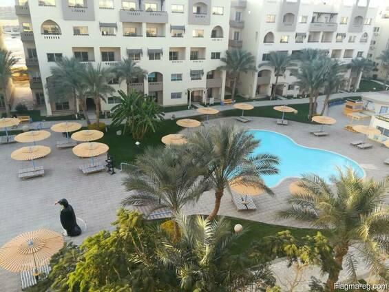 The 5-star Nubia Aqua Beach Aparthotel