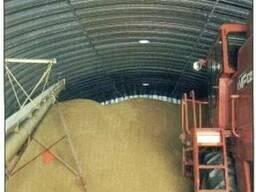 Зернохранилища напольного типа фермерские и припортовые - фото 5
