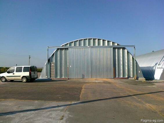 Arch buildings - hangars