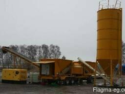 Мобильный бетонный завод SUMAB М-2200 (50-80 м3/час) Швеция - photo 4