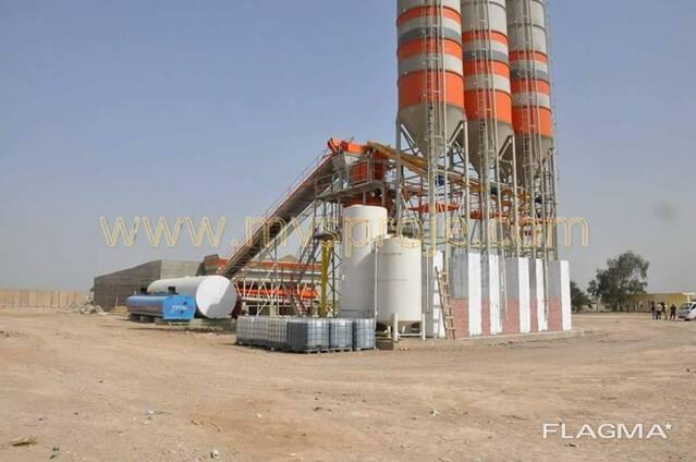 MVS130S Stationary Concrete Batching Plant