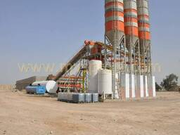 MVS130S Stationary Concrete Batching Plant