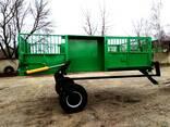Полуприцепы тракторные с гидравлическим подъемом для сви - фото 2