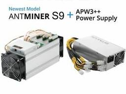 Selling Bitmain Antminer S9 14th with PSU/ CHAT: 17622334358