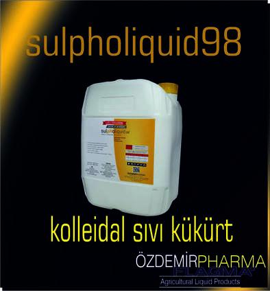 Sulpholiquid98 (Colloidal Liquid Sulfur)( الكبريتولكوييد )