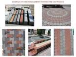 Вибропресс для производства тротуарной плитки U-1500 Швеция - фото 8