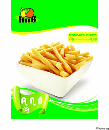 Замороженный картофель FRIES из Египта